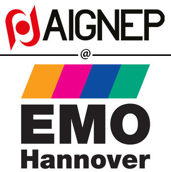 Aignep joins EMO for the promotion of its pneumatic and mechatronic solutions